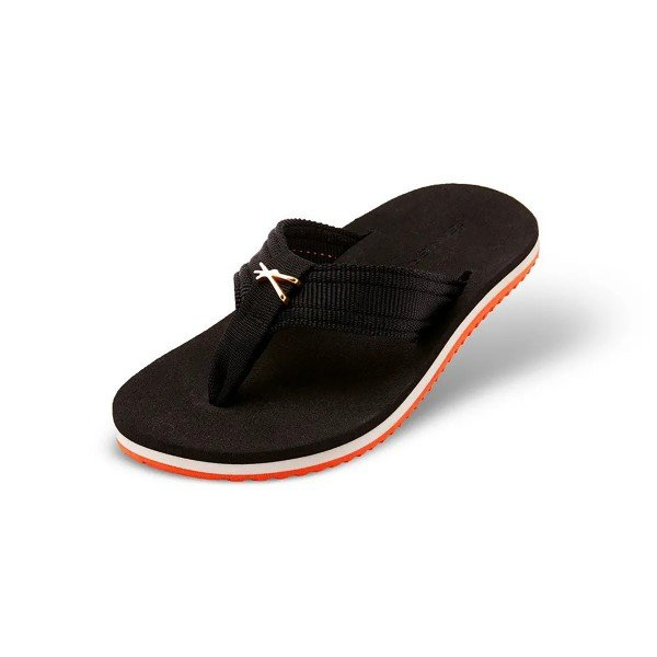Chinelo Kenner Joy NK5.1 Original Gold TQG Infantil - Preto