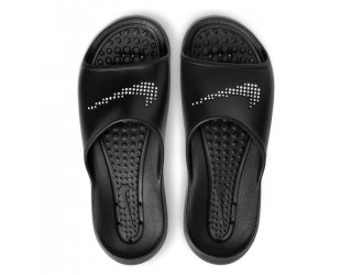 Chinelo Slide Nike Victori One Shower Masculino - Preto e Branco