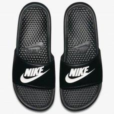 Sandália Nike Benassi JDI Masculina - Preto e Branco
