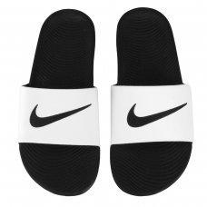 Sandália Nike Kawa Slide Masculina - Branco