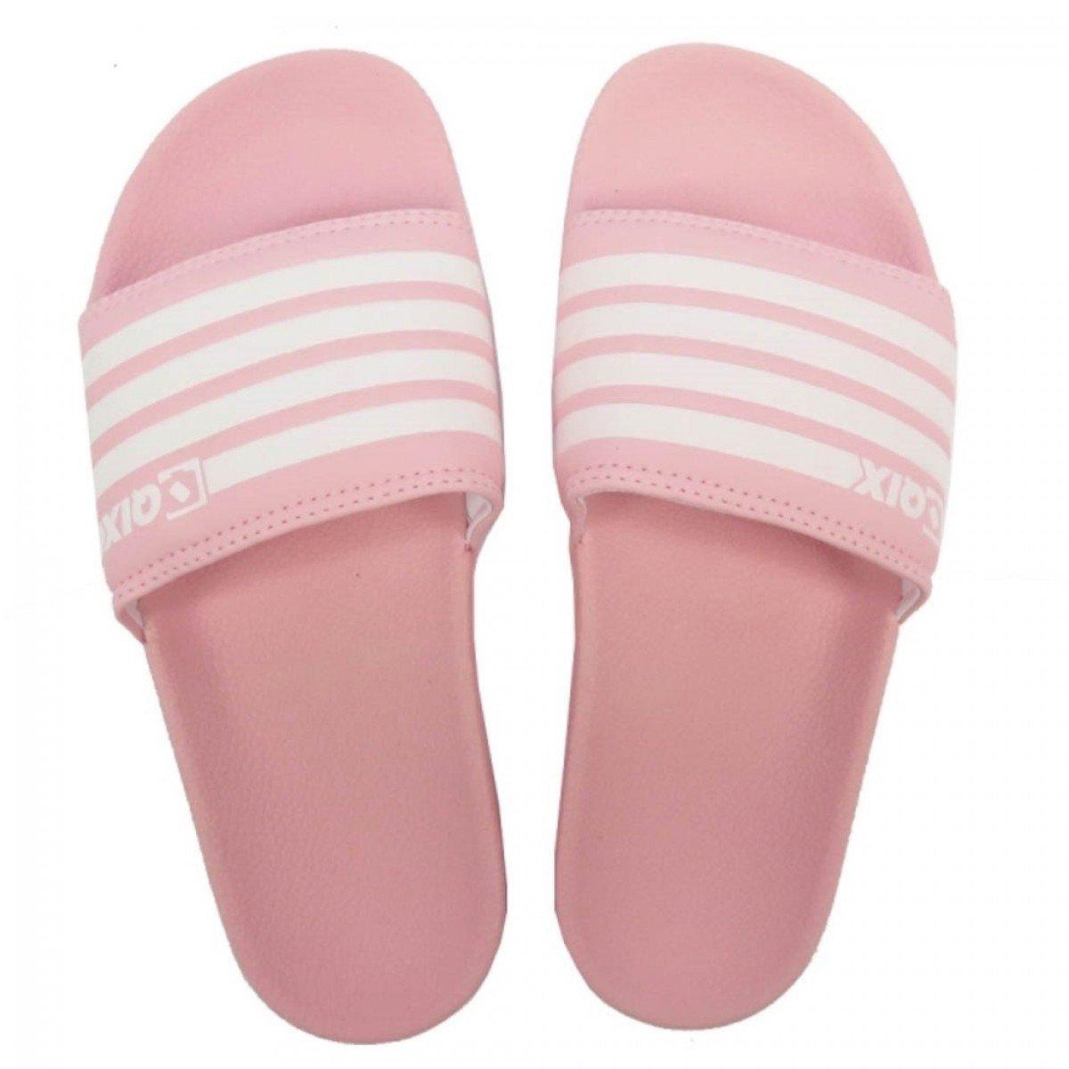 9722f601a Chinelo QIX Slide Feminino Rosa - Compre Agora